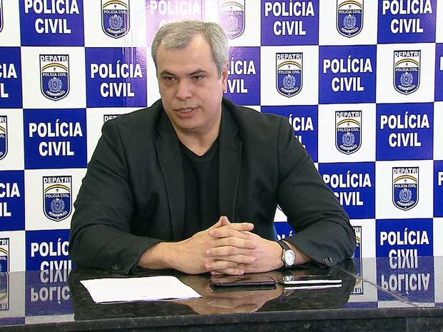 Antônio Barros, chefe da Polícia Civil de Pernambuco (Foto: Reprodução/TV Globo)
