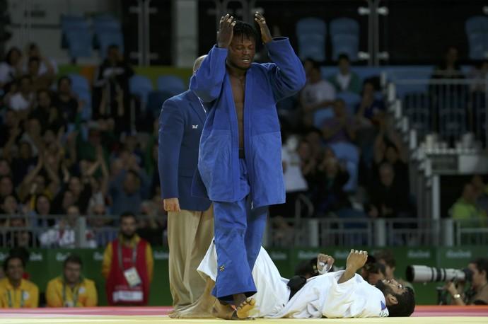 Popole Misenga judoca refugiado (Foto: Reuters/Toru Hanai)