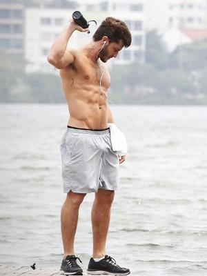 Todos torcem para que Léo volte a ter a sua velha forma  (Foto: Raphael Dias/TV Globo)