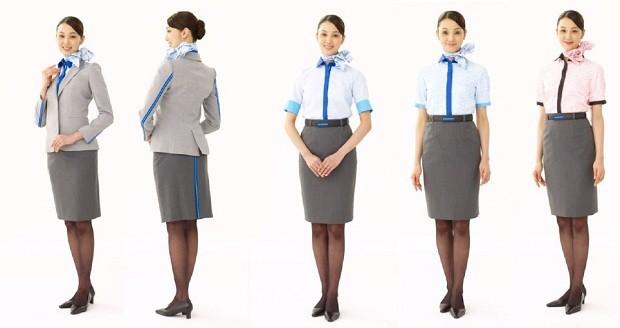 Os uniformes da ANA (Foto: Divulgação)