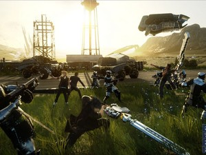 Cena do RPG de nova geração 'Final Fantasy XV' (Foto: Divulgação/Square Enix)