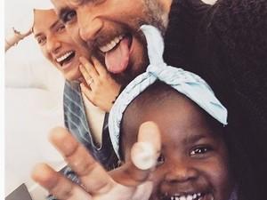 Giovanna Ewbank, Bruno Gagliasso e a filha Titi (Foto: Reprodução / Instagram)
