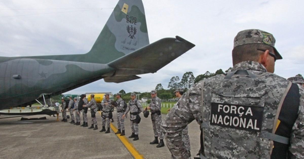 Resultado de imagem para Agentes da Força Nacional são vítimas de tentativa de assalto em natal