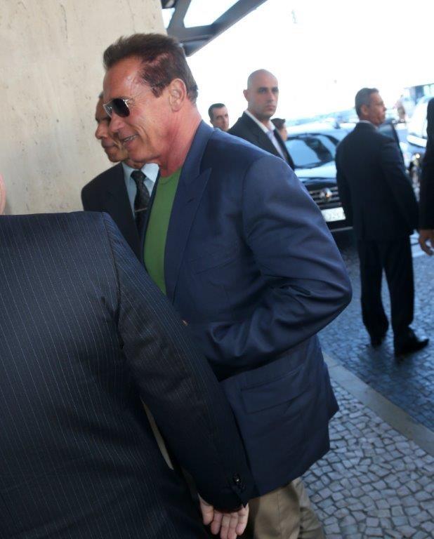 Arnold Schwarznegger (Foto: Andre Freitas/AgNews)