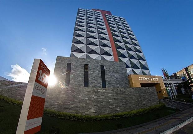 Hotel Conect Smart em Salvador: parte do doleiro Alberto Youssef foi a leilão (Foto: Divulgação)