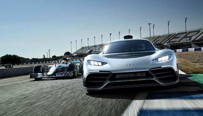 Mercedes-AMG Project ONE e o carro de F1