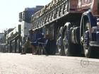 Motoristas cometem infrações para fugir de protesto em rodovias de MG