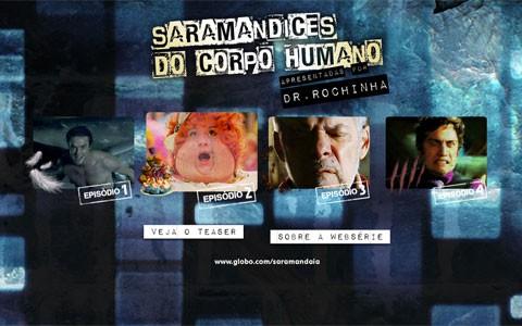 Dr. Rochinha explica as diferencices dos personagens em quatro episódios (Saramandaia / TV Globo)