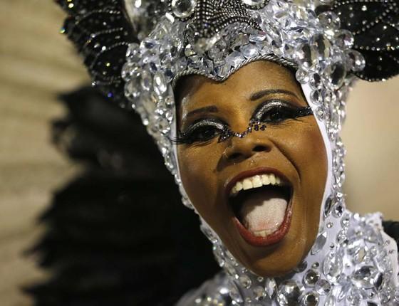 Mangueira é a escola de samba campeã do carnaval do Rio de Janeiro em 2016 (Foto: Silvia Izquierdo/AP)
