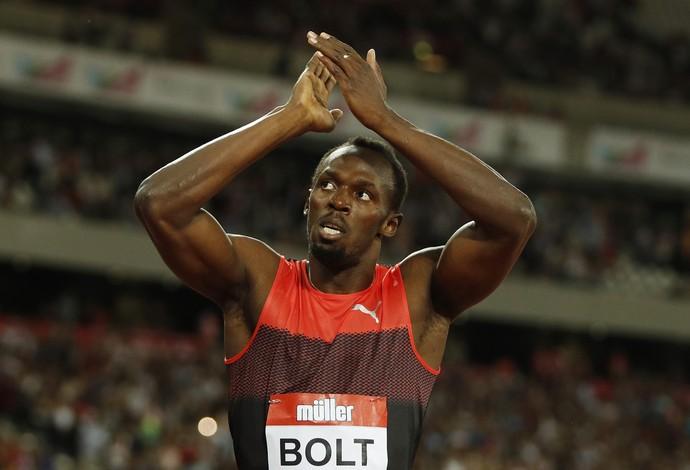 Usain Bolt 200m diamond league londres atletismo (Foto: Reuters)