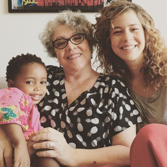 As três gerações da família Leal:Julia, Angela e Leandra (Foto: Reprodução Instagram)