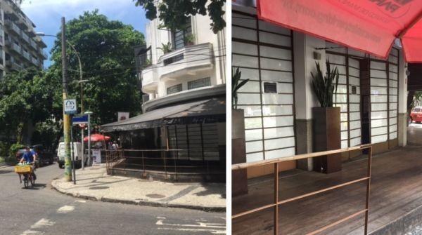 A loja do Alessandro & Frederico que fechou as portas.