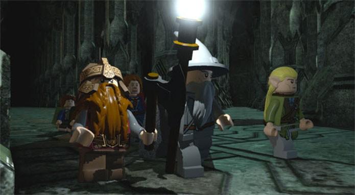 Lego Lord of the Rings The Video Game: um dos mais épicos da saga (Foto: Divulgação)