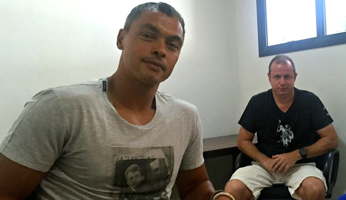 Dodô e Sandro comandaram Rio Negro por quatro semanas (Foto: Isabella Pina)