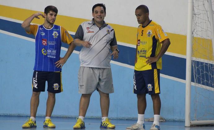 Treino São José Futsal (Foto: Quarttus Marketing)