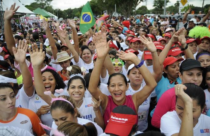 Corrida da Mulher Manaus (Foto: Antônio Lima/Semjel)