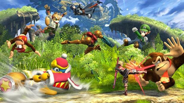 'Super Smash Bros.' do Wii U terá modo de jogo para até 8 jogadores ao mesmo tempo (Foto: Divulgação/Nintendo)