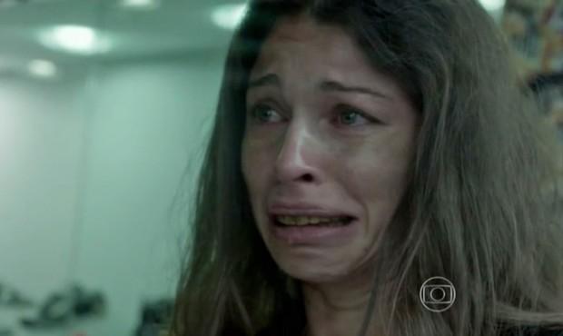 Grazi Massafera como Larissa na novela Verdades Secretas (Foto: Reprodução Globo)