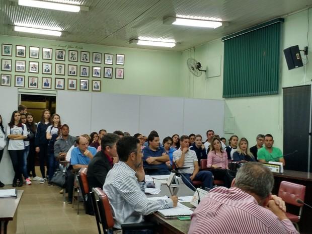 Sessão de 5 de outubro.  (Foto: Divulgação/Câmara Municipal)