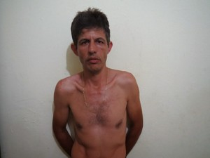 Emerson Rodrigues dos Reis foi preso escondido em uma quitinete em Colinas do Tocantins (Foto: Polícia Civil/Divulgação)