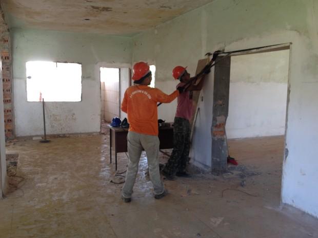 Após a reforma o prédio do SAE terá oito salas e os atendimentos devem começar ainda no primeiro semestre. (Foto: Junior Freitas/G1)