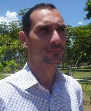 Thiago Alves, diretor de futebol do Boavista (Foto: Pedro Carrion)