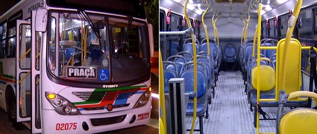 Crime aconteceu no ônibus da linha 37, que faz o trajeto Rocas/Cidade Satélite (Foto: Reprodução/Facebook)