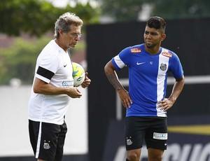 Oswaldo de Oliveira Gabigol Santos (Foto: Ricardo Saibun/Divulgação Santos FC)