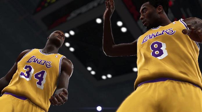 Shaq relembra carreira no Lakers no vídeo (Foto: Reprodução/YouTube)