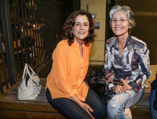 Marieta Severo e Cássia Kis Magro (Foto: Francisco Silva/AgNews)
