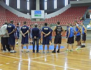 reapresentação mogi basquete (Foto: Rodrigo Mariano)