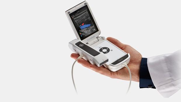 Vscan, aparelho de ultrassom de bolso que será usado nos Jogos Rio 2016 (Foto: GE)