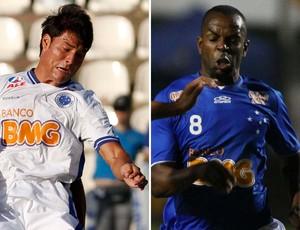 Pedro Ken e Sandro Silva Cruzeiro (Foto: Montagem sobre foto da Agência Estado)