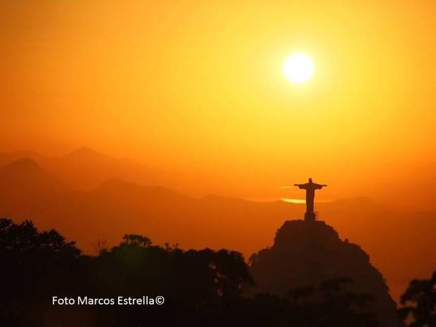 Quarta-feira (19) no Rio será de sol e calor; não há previsão de chuva. (Foto: Reprodução/TV Globo)
