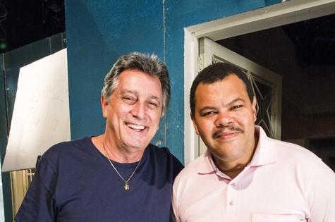 Eduardo Galvão e Babu Santana (Foto: João Miguel Júnior/ TV Globo)