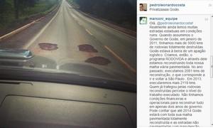 Pedro Leonardo critica rodovia em post, e governo promete privatização