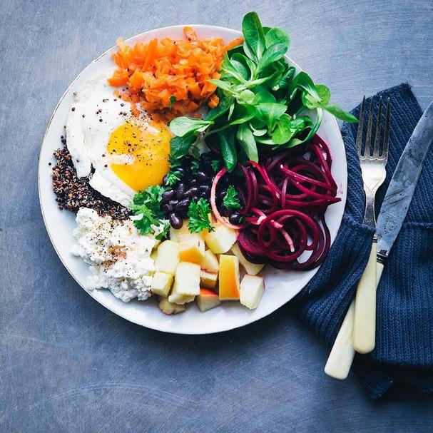 Prato vegetariano (Foto: Instagram/Reprodução)