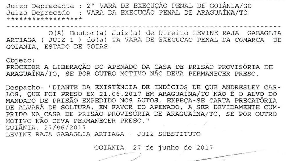 Mandado de prisão foi expedido nesta terça-feira (27) (Foto: Reprodução)