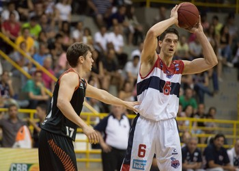 Marcos Mata, argentino do Franca Basquete (Foto: Newton Nogueira / Franca Basquete)