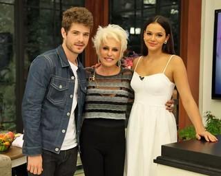 Bruna Marquezine, Maurício Destri e Ana Maria Braga  (Foto: Divulgação/TV Globo)