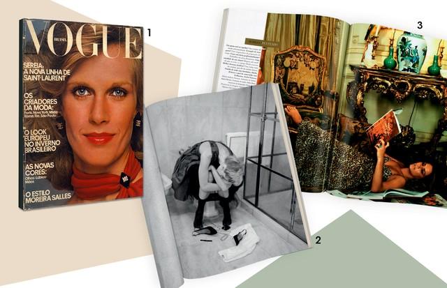 Três importantes trabalhos feitos por Stupakoff para a edição brasileira da revista (Foto: Instituto Moreira Salles/Divulgação)