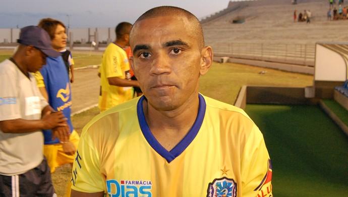 Ribinha, atacante do Lucena (Foto: Silas Batista / GloboEsporte.com)