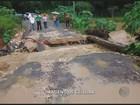 Após chuva, casas são interditadas em Amparo e Pinhalzinho