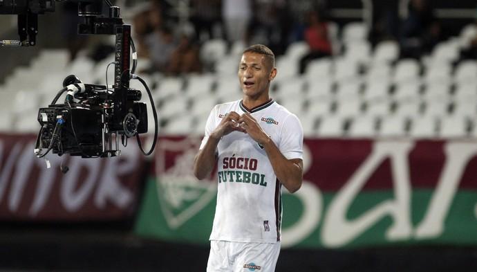 richarlison fluminense gol botafogo (Foto: Nelson Perez / Fluminense)