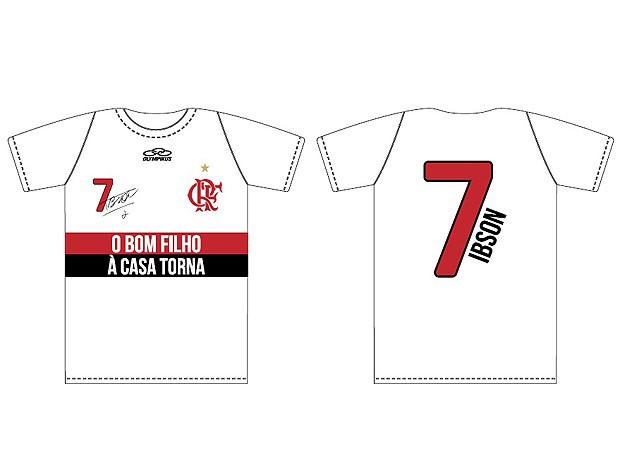 Flamengo vai lançar camisa comemorativa do retorno de Ibson ... 0f1ee0ffd4201