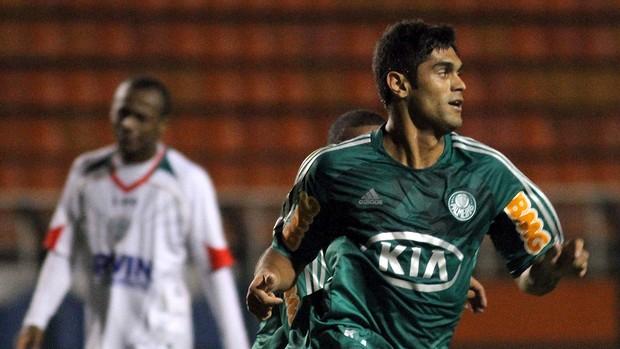 Luan gol Palmeiras (Foto: Piervi Fonseca / Ag. Estado)