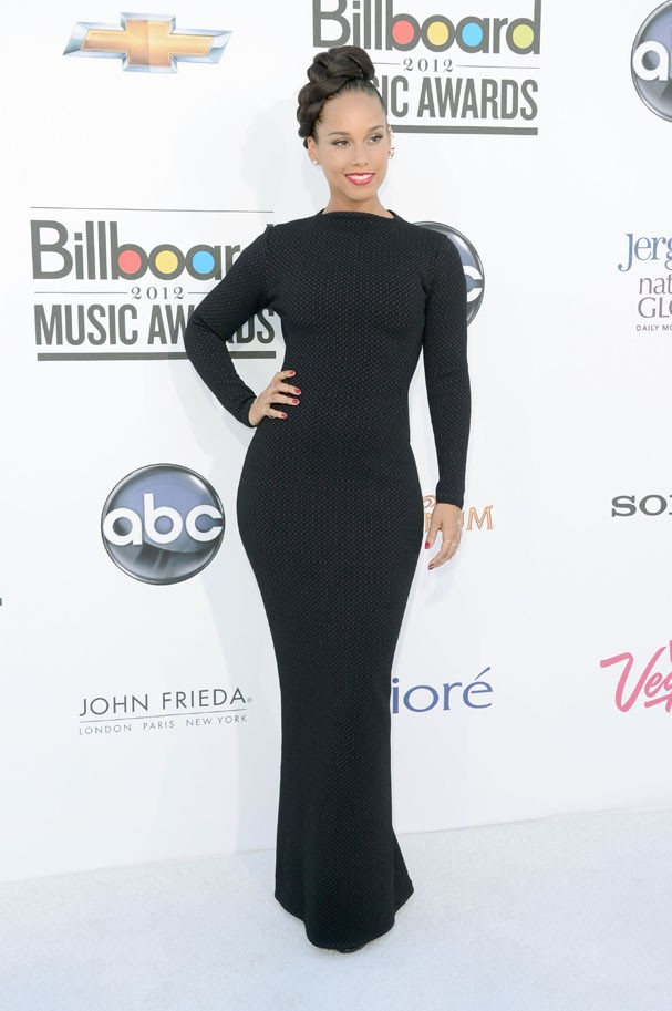 LAS VEGAS, NV - MAY 20:  Singer Alicia Keys arrives at the 2012 Billboard Music Awards held at the MGM Grand Garden Arena on May 20, 2012 in Las Vegas, Nevada.  (Photo by Frazer Harrison/Getty Images for ABC) (Foto: Getty Images for ABC)