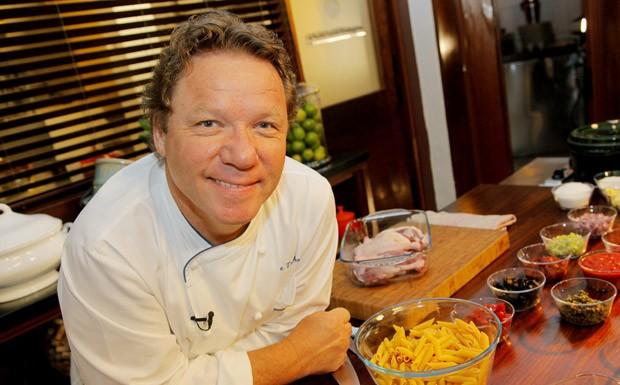 Claude Troisgros - chef fecha, com chave de ouro, a Copa Gol Pela Vida (Foto: GNT)