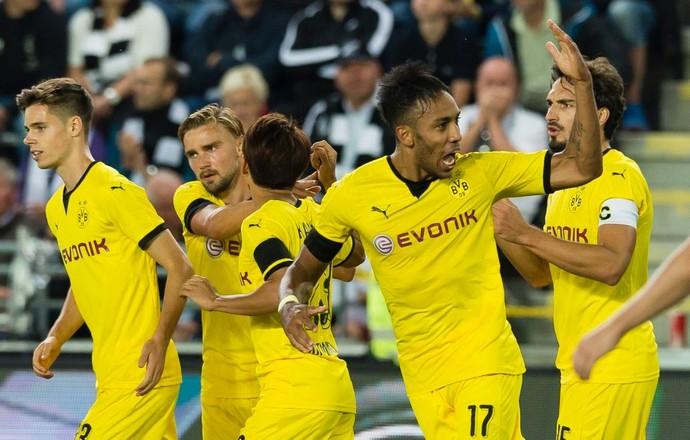 Aubameyang, Odd x Borussia Dortmund (Foto: Reprodução / Facebook)