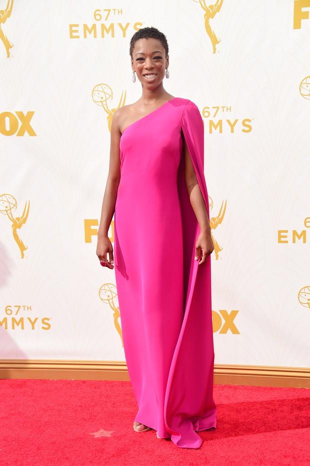 Samira Wiley no Emmy Awards (Foto: Getty Images)
